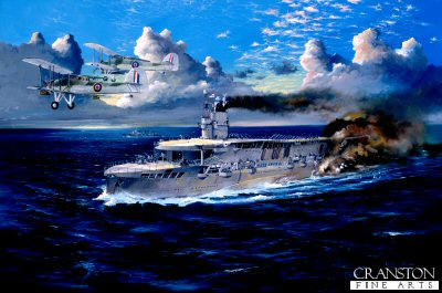 HMS Courageous by Randall Wilson (GS)