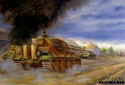Counter Attack at Villers Bocage by David Pentland.
