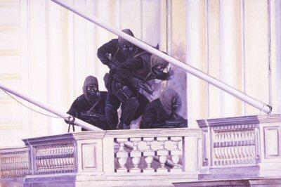 Operation Nimrod, 5th May 1980 by David Pentland.