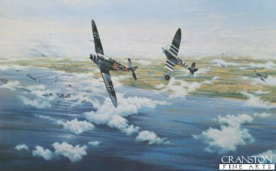 Combat Over Normandy by Graeme Lothian.