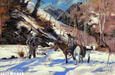 Winter Fishing by Alan Herriot.
