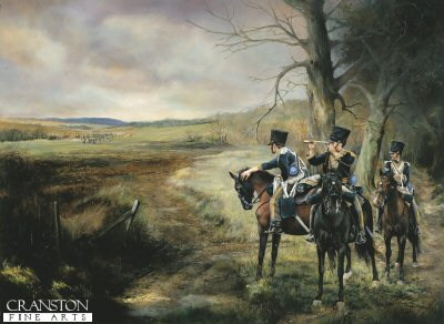 The Vedette of the 13th Light Dragoons by Chris Collingwood. (PC)