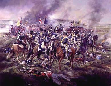 Counter Charge of the 12th and 13th Light Dragoons by Chris Collingwood.