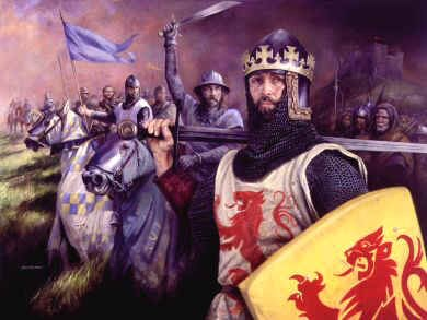 Robert the Bruce by Chris Collingwood. (GS)