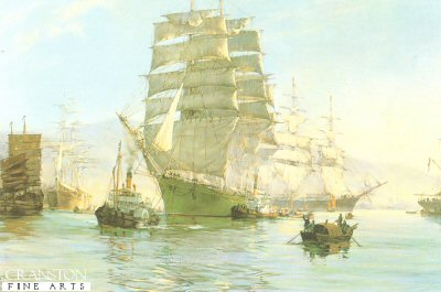The Thermopylae Leaving Foochow by Montague Dawson.