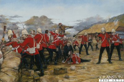 Defence of Rorkes Drift by Brian Palmer