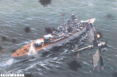 Bismarck by Ivan Berryman (B)