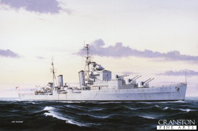 HMS SCYLLA 25 LIMITED EDITION ART