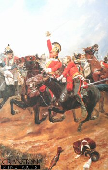 Charge of the Life Guards by Richard Caton Woodville