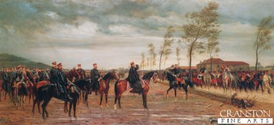 The Surrender of the French Army, 2nd September 1870 by Conrad Freyberg.