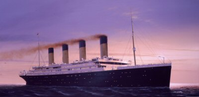 RMS Titanic. Ship of Dreams by Ivan Berryman.�