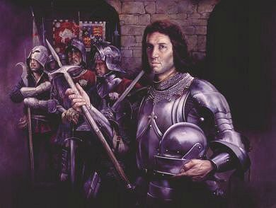 Richard III by Chris Collingwood. (Y)