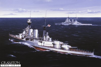 HMS Hood by Ivan Berryman (PC)