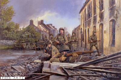 Screaming Eagles in Normandy, 7th June 1944 by David Pentland. (Y)