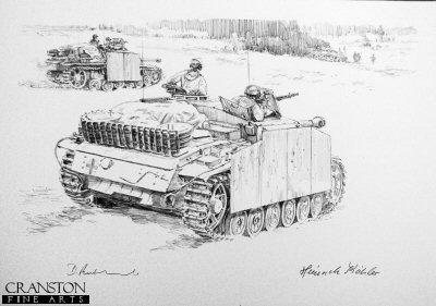 Turning the Tables, Kurland, Baltic Coast, 25th January - 3rd February 1945 by David Pentland. (P)