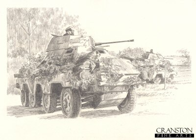 D-Day Recce by David Pentland. (B)