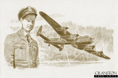 Tribute to the 617 Sqn Dambusters Crew of Lancaster AJ-L by David Pentland.