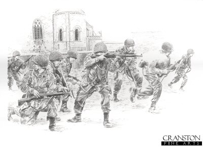 Struggle for Sainte Mere Eglise by David Pentland.