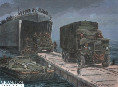 Arromanches by David Pentland. (P)