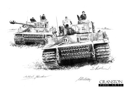 Tigers - 505th at Kursk by David Pentland. (P)