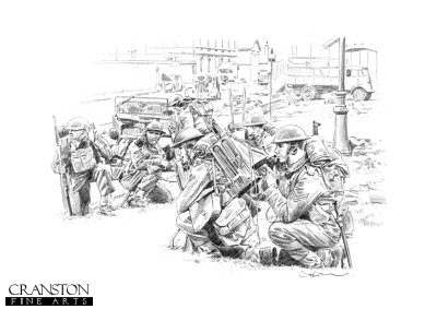 Rearguard at Dunkirk by David Pentland.