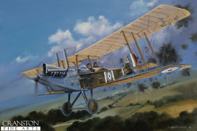 Harry Tate RE8, France, 1st October 1918 by David Pentland.
