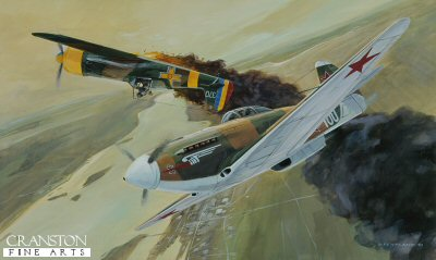 Duel on the Dnepr, Southen Russia, Summer 1943 by David Pentland.