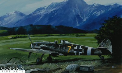 The Last Eagle, Innsbruck, Austria, May 1945 by David Pentland. (D)