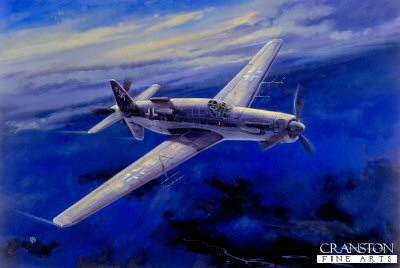 Heinkel / Dornier 525b by David Pentland.