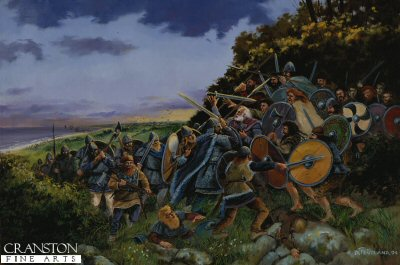 Death of Brian Boru - Clontarf by David Pentland.
