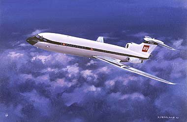 BA Trident by David Pentland.