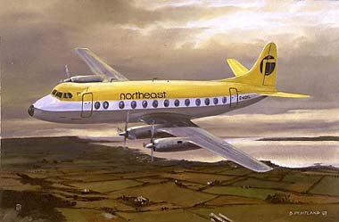 Vickers Viscount by David Pentland.