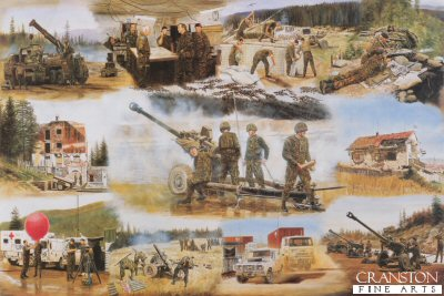 19th Regiment Royal Artillery - BRITARTYBAT by David Rowlands.