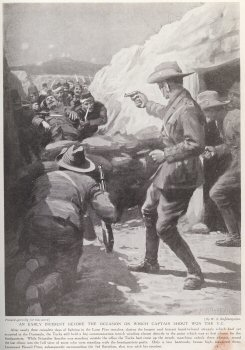An Early Incident Before The Occasion On Which Captain Shout Won The V.C.