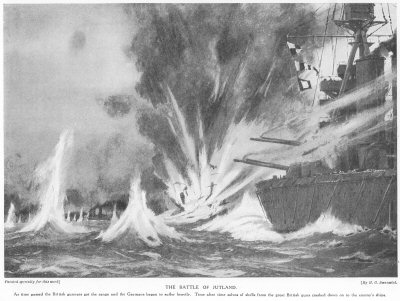 The Battle of Jutland.