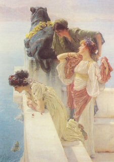 A Coign of Vantage by Sir Lawrence Alma-Tadema