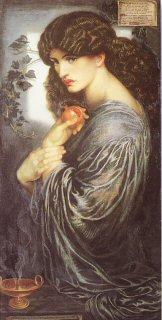 Proserpine by Dante Gabriel Rossetti