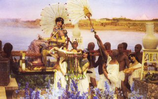 The Finding of Moses by Sir Lawrence Alma-Tadema.