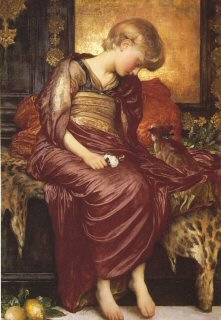 Kittens by Lord Frederic Leighton