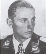 Erich Hartmann started his career as Paule Rossmans wingman, and it was obvious that here was a very special pilot. Promoted Staffelkapitan of 7/JG52 in July 1943, he was shot down and taken prisoner for four hours before escaping. In September he took over 9/JG52. In March 1944 he reached the 200 victory mark. He later le 4/JG52, then briefly I/JG52, and lastly Gruppenkommandeur of I/JG52. Hartmann scored a total of 352 victories, more than any other pilot in history, and was awarded the Knights Cross with Oak Leaves, Swords and Diamonds. Erich Hartmann is the top-scoring fighter pilot in history. During WWII he shot down the equivalent of almost 15 Allied squadrons in aerial combat. In some 850 aerial combats he shot down 352 Allied planes and was shot down himself 16 times. He was never wounded. Hartmanns mother taught him to fly at age 14 and in 1942 at age 20 he was flying Me109s on the Eastern front. His first combat mission was disastrous. He spoiled his leaders attack by going for the kill himself, then mistook his leaders Me109 for a Russian fighter and fled in panic. Were it not for super ace Walter Krupinski believing in Hartmanns abilities he might well have had his flying career ended. Krupinskis tutoring coupled with the fact that Hartmann was a crack shot, turned him around. He scored his first victory on November 5th 1942 and by September 1943 he had completed 300 missions with 95 victories to his credit. In August 1944 Hartmann was awarded the Diamonds to his Knights Cross - Germanys highest decoration and one that was awarded to only 27 German militar ypersonnel. Hitler made the award personally. Before the award ceremony he was demanded to hand over his sidearm before meeting with Hitler. Hartmann told the generals that if Hitler could not trust his front line officers, he could stuff his Diamonds. After a brief confusion he was allowed to carry his pistol. Hartmanns success resulted from the lessons he learned from Krupinski - do not fire until your enemys plane fills your windscreen. That resulted in a sure kill with a minimum amount of ammunition expended. Almost every kill Hartmann made was a near collision. After the war Hartmann surrendered to the Americans, who turned him over to the Russians. He was singled out for especially brutal treatment and was illegally held by the Russians until 1955 when Chansellor Adenaur personally visited Moscow and arranged for his release. The Russians had used every persuasive device known to convert Hartmann to Communism and get him to join the DDR airforce. Upon his return to Germany, his friend and fellow ace, Walter Krupinski, urged him to join the new German Air Force with other old friends such as Barkhorn and Hrabak. Since he felt he was too old to begin a new career, he did. He was given refresher training in the United States and was selected to command the Richthofen Wing in the new German Air Force, the first fighter wing to be rebuilt since the war. He filled that and other jobs in the new Luftwaffe with great distinction until his retirement. He died 20th September 1993