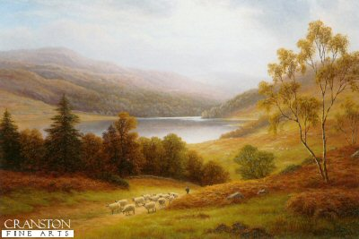 Rydal Lake by William Mellor.