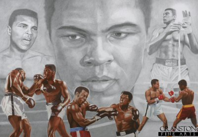 Sporting Legends - Muhammad Ali by Stuart McIntyre.