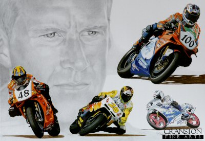 Sporting Legends - Neil Hodgson by Stuart McIntyre.