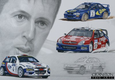 Sporting Legends - Colin McRae by Stuart McIntyre.