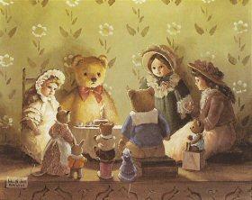 Birthday Party for Teddy by Deborah Jones
