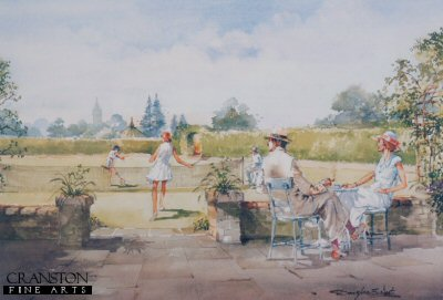 Tea and Tennis by Douglas West