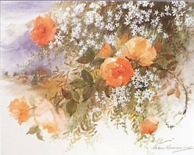Roses & Jasmine by Andrea Mosimann-Grass