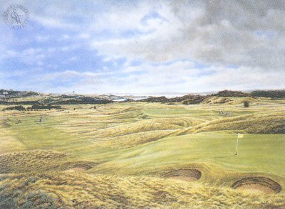 Muirfield - 13th Hole by Mark Chadwick