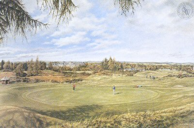 Gleneagles - Kings Course by Mark Chadwick