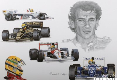 Tribute to Ayrton Senna by Stuart McIntyre.